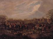 Dean Wolstenholme The Essex Hunt,1831 A set of Four Paintings oil